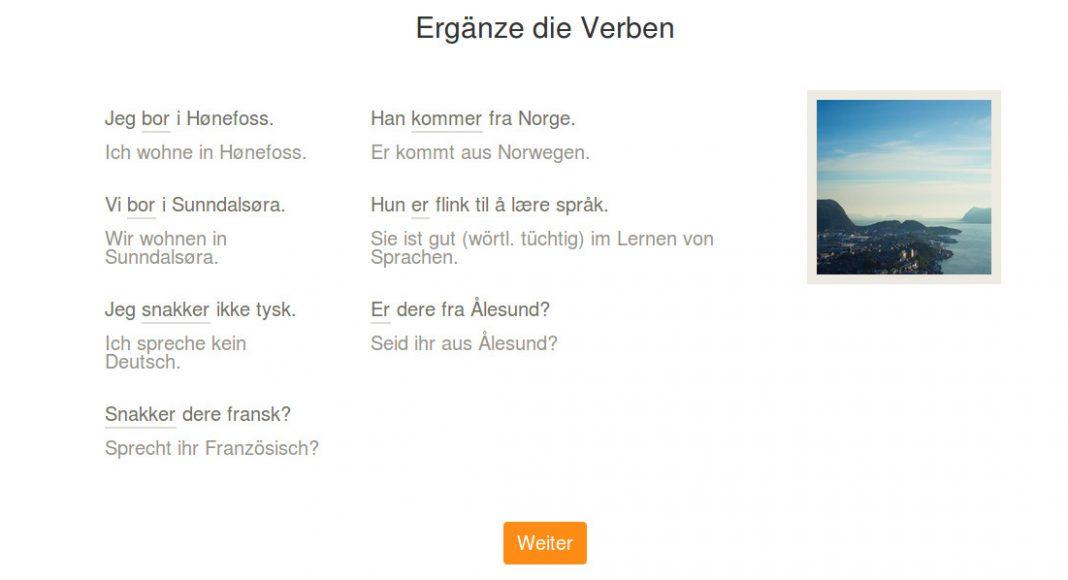 Babbel App Erfahrugen Norwegisch