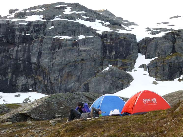 Packliste Norwegen Camping