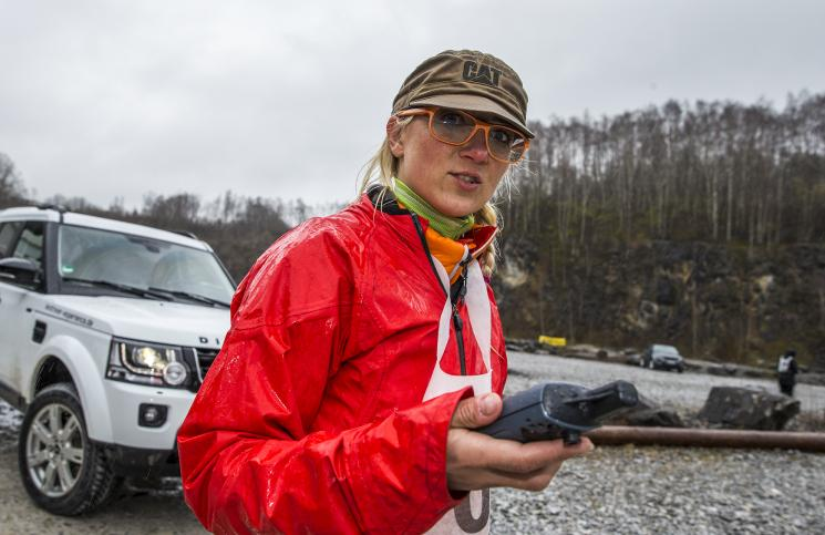 Claudia Beitsch Landrover Experience