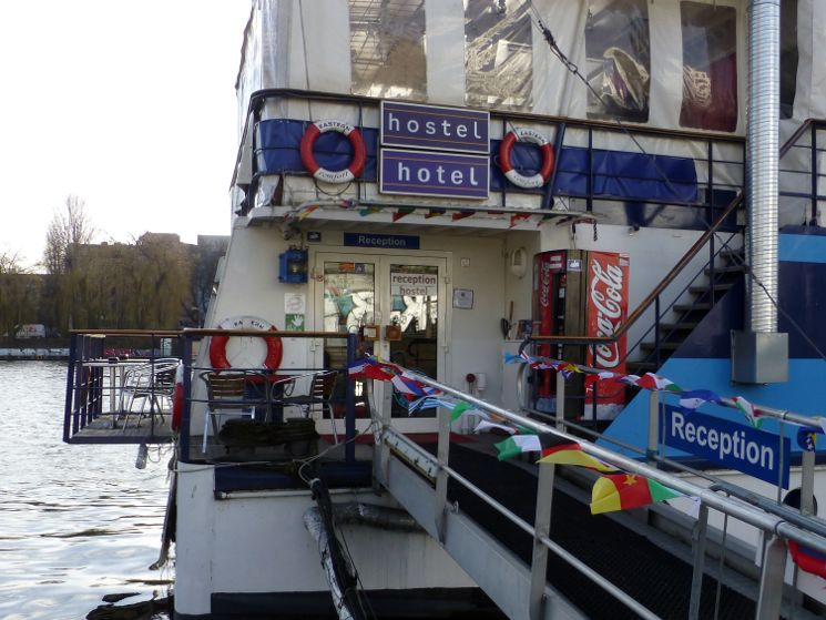 Hostel Hostelboat Berlin