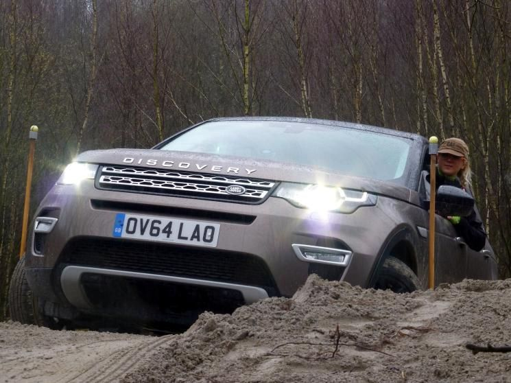 Landrover Discovery Parcour