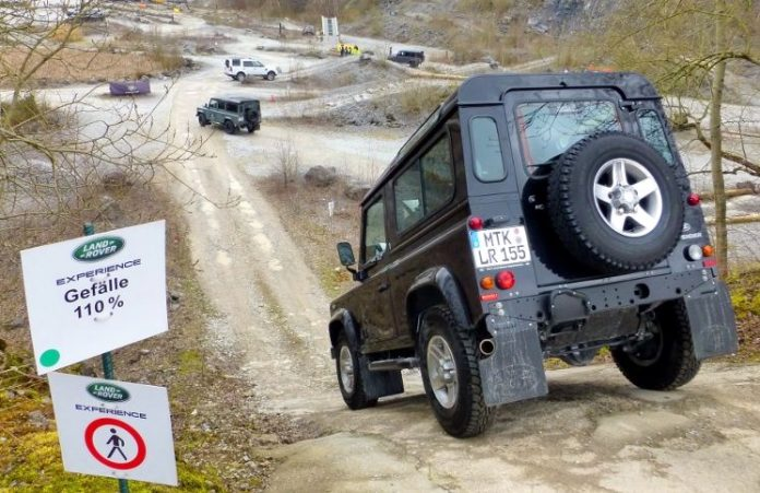Offroad Landrover Experience