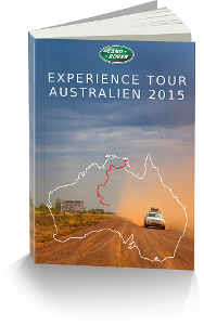Cover Land Rover Experience Australien