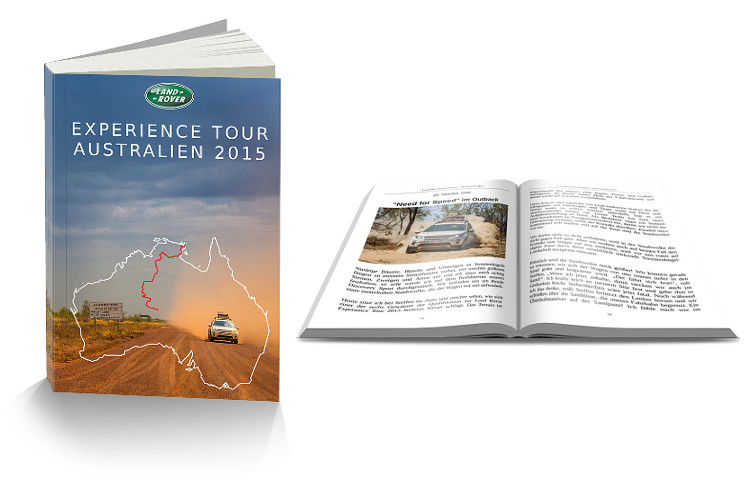 Land Rover Experience Tourtagebuch