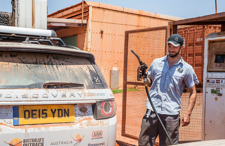 Timo Peters Land Rover Experience Australien
