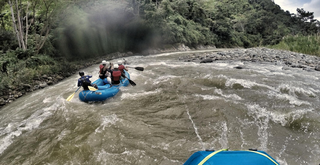 Savegre Fluss Rafting Costa Rica