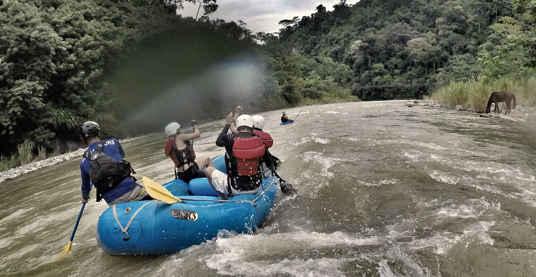 Wildwasser Rafting Costa Rica