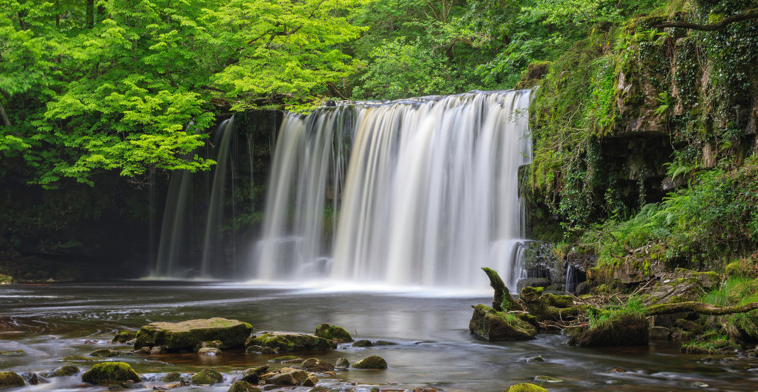 Brecon Beacons Wasserfälle Wales